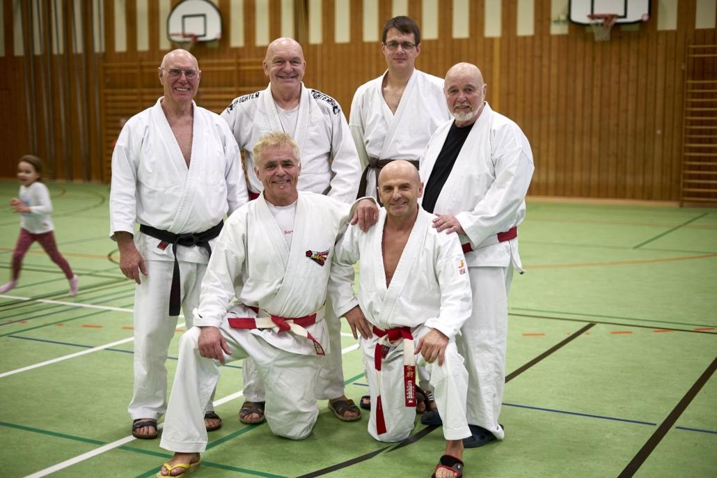 Die Dozenten und Mitglieder der Kampfkunstschule Amberg